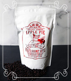 Polly's Gourmet Coffee Apple Pie Image