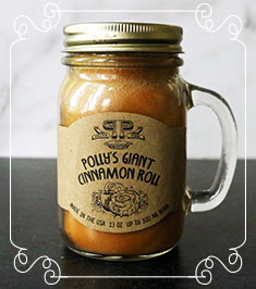 Polly's Giant Cinnamon Roll Candle  Image