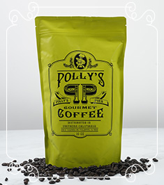 Polly's Gourmet Coffee Regular Blend  Image