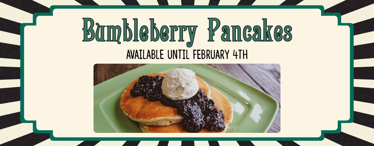 Bumbleberry Pancakes - Available until February 4th