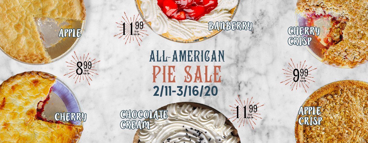 All-American Pie Sale