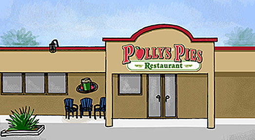Polly's Pies Fullerton Exterior