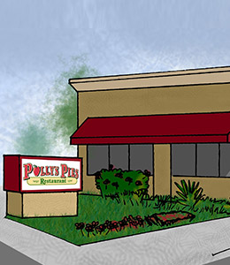 Polly's Pies Huntington Beach Exterior