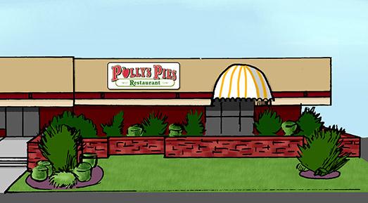 Polly's Pies La Mirada Exterior
