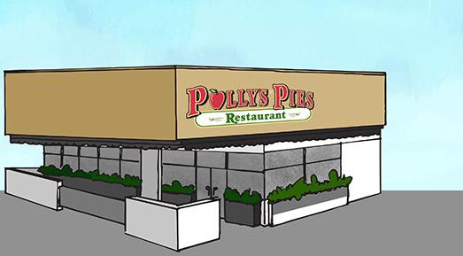 Polly's Pies Los Alamitos Exterior