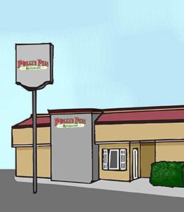 Polly's Pies Montebello Exterior