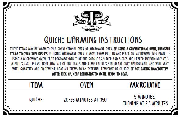 quiche-warming